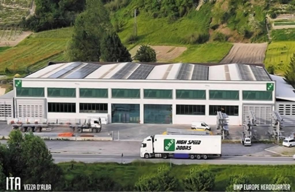 BMP progettazione chiusure industriali porte rapide pvc