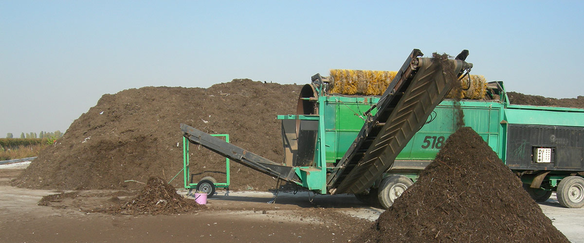 chiusure industriali impianti compostaggio