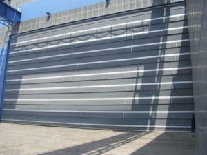 portoni automatici industriali grandi dimensioni