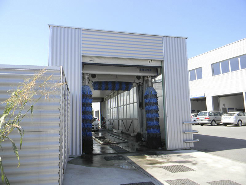 porte rapide pvc autoriparanti per car washes