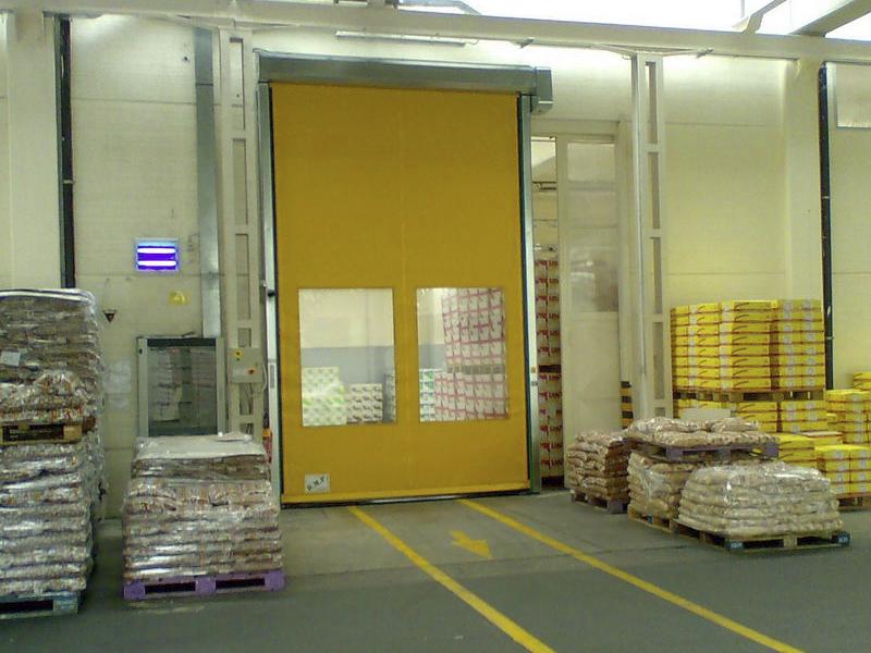 porte rapide pvc per grande distribuzione organizzata