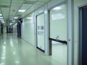 porte per cliniche laboratori strutture sanitarie