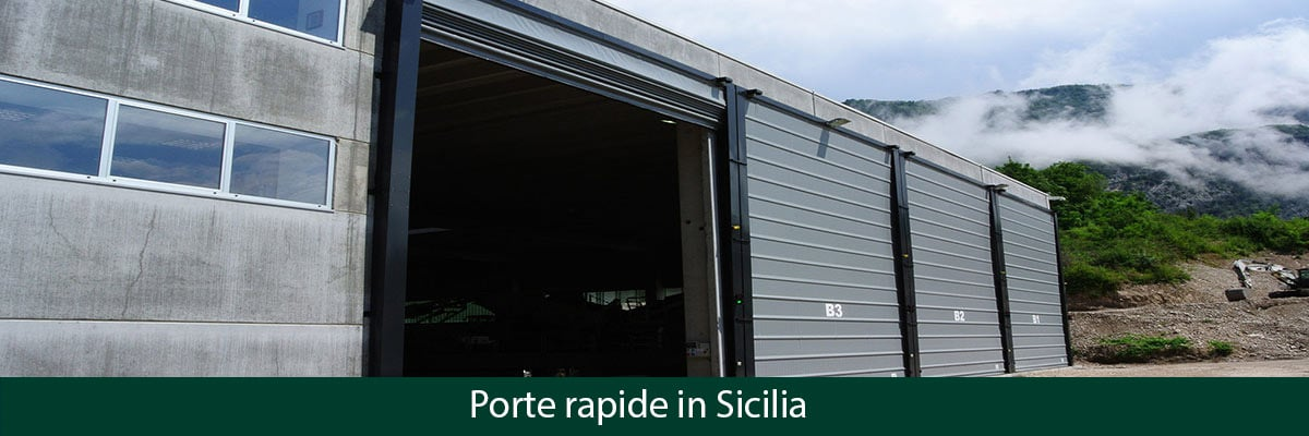Serrande Avvolgibili Palermo.Porte Rapide In Sicilia Chiusure Industriali E Serrande