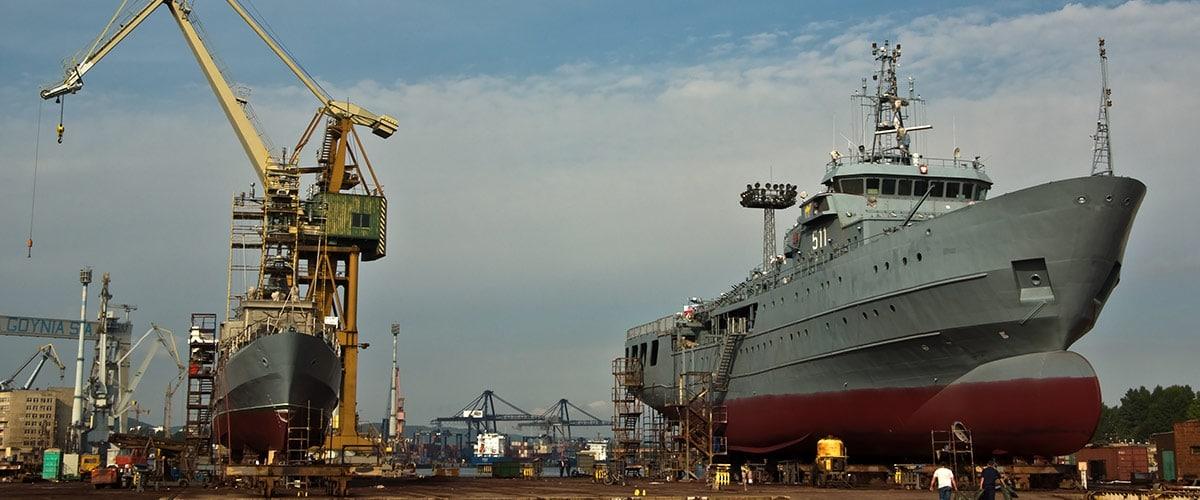 chiusure cantieri navali aree portuali