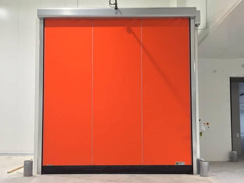 porte rapide pvc per celle di refrigerazione