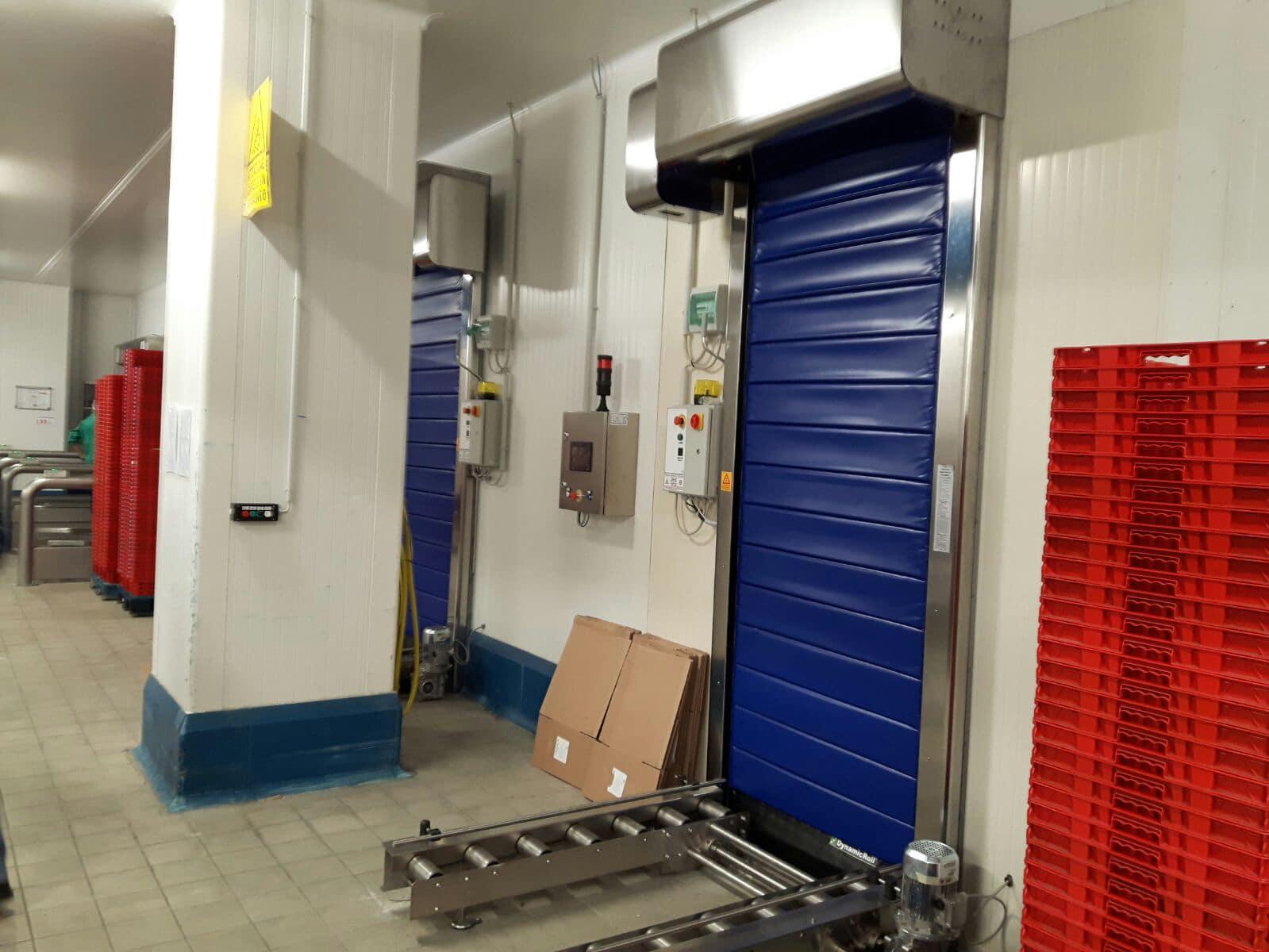 porte autoriparanti pvc frigo1 per celle frigorifere