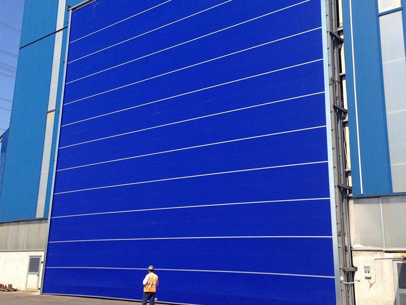 porte ad impacchettamento rapido per cantieri navali in liguria