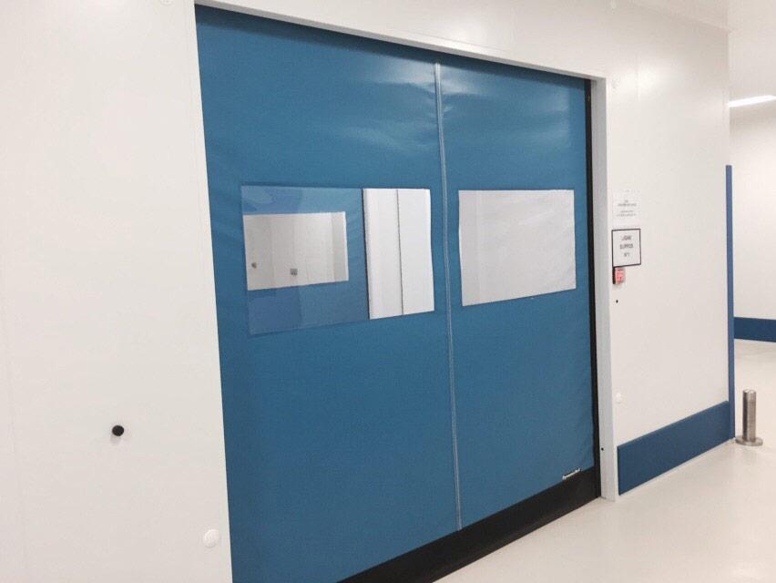 porte rapide autoriparanti per ospedali