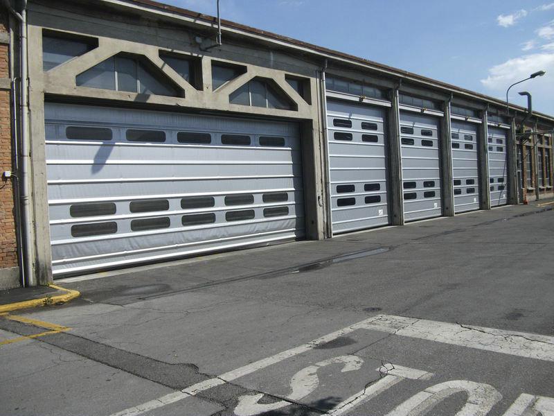 porte avvolgibili per capannoni