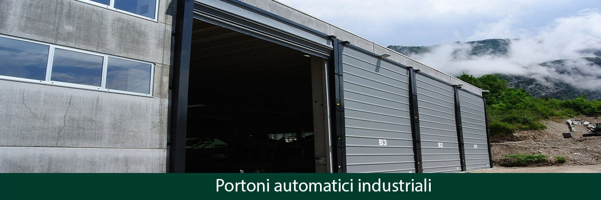 portoni automatici industriali